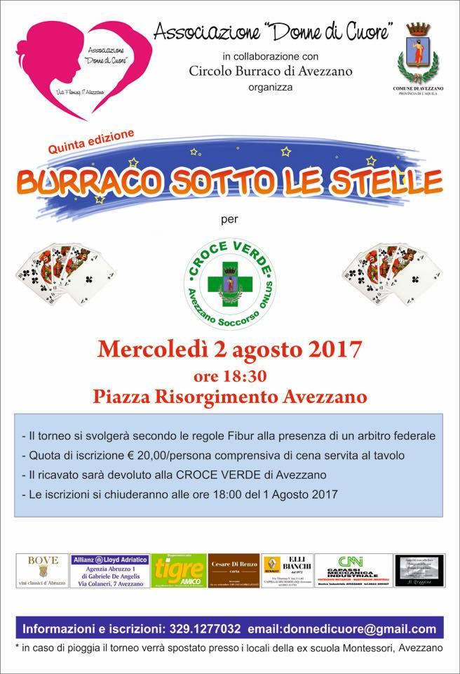 """Torna in piazza Risorgimento """"Burraco sotto le stelle"""", aperte le iscrizioni"""