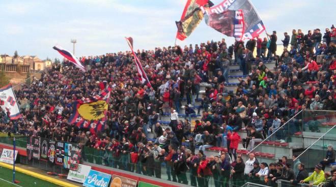 Raggiunti dal Daspo i tifosi de L'Aquila Calcio arrestati il 23 ottobre scorso