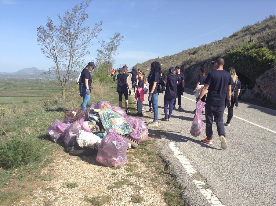 Capistrello :140 volontari per la Giornata Ecologica sul Salviano