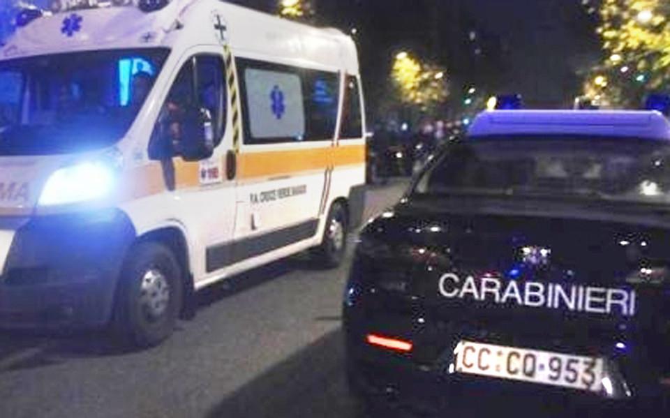 Tagliacozzo, incidente in moto sulla Tiburtina. Due ventenni feriti gravemente