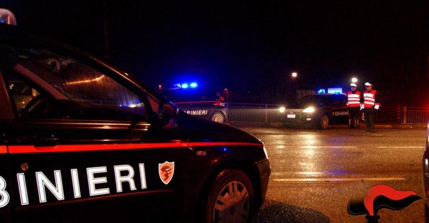 Controlli dei carabinieri, tre denunce e due segnalati per possesso di sostanze stupefacenti