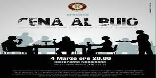 """Rotaract Avezzano: """"Cena al buio"""" un'esperienza sensoriale a favore dell'UICI"""