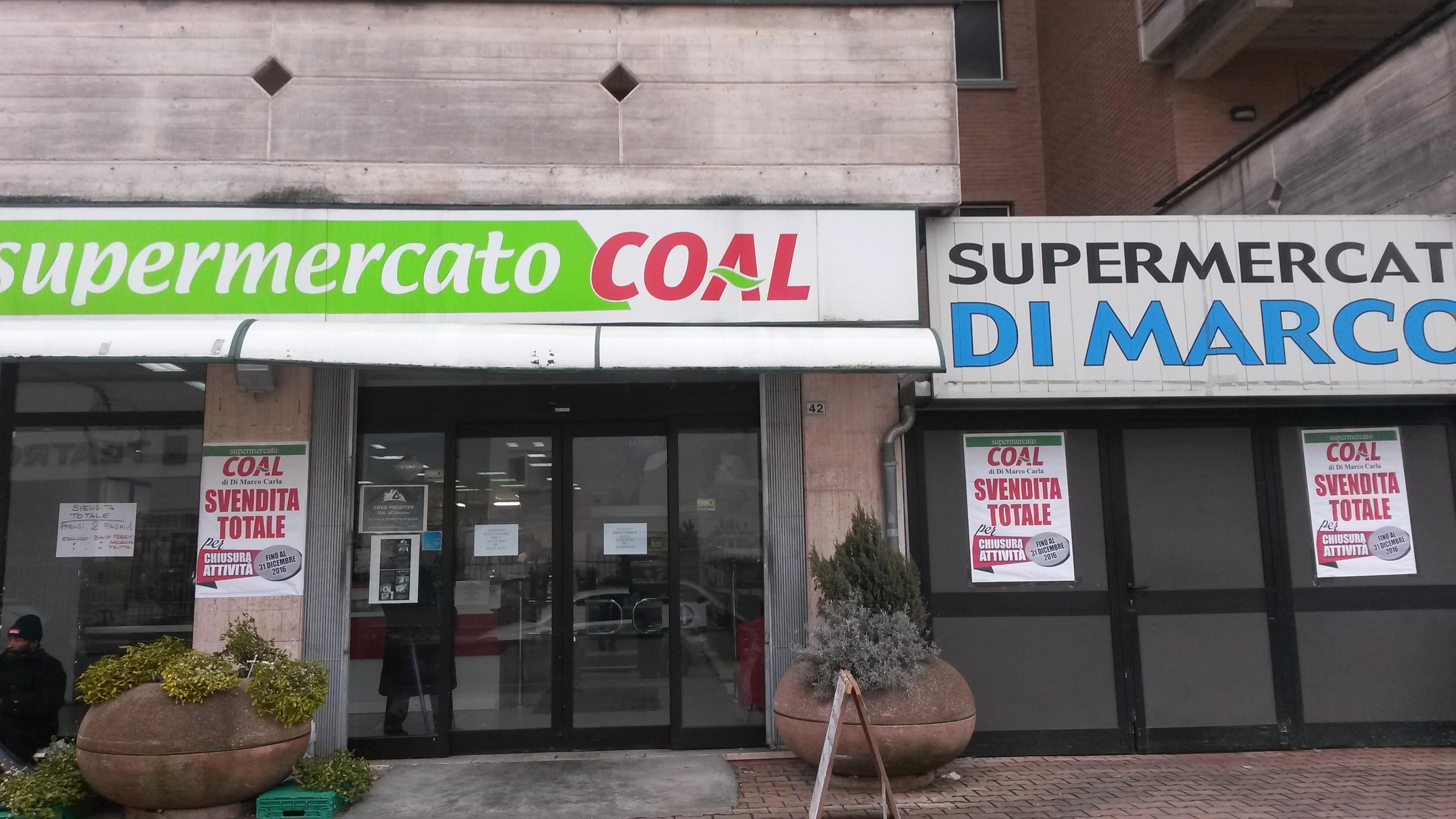 """Chiude il Coal di via Veneto. Di Bastiano: """"La città perde un punto di riferimento soprattutto per gli anziani"""""""