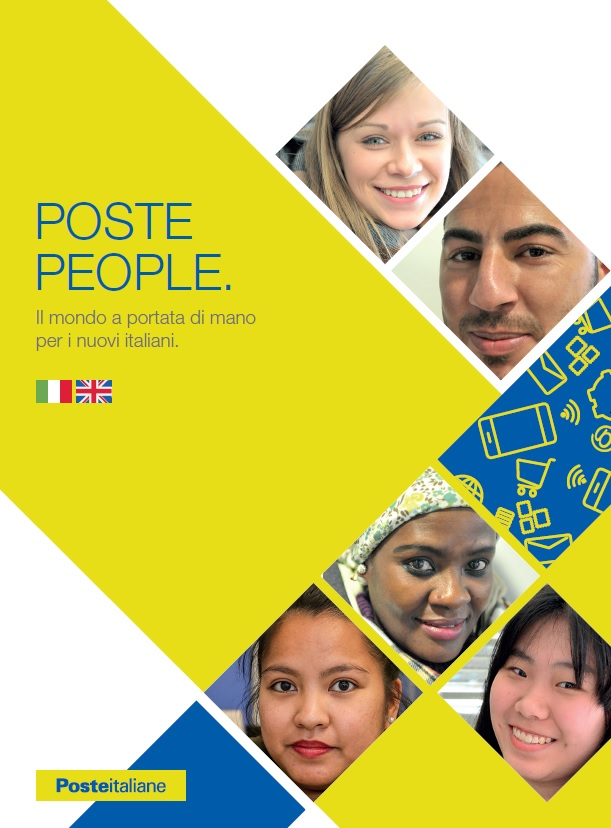 """Poste Italiane, è in distribuzione gratuita l'opuscolo per gli stranieri """"Poste People"""""""
