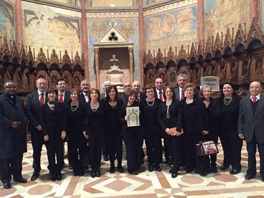 Il Coro di Antrosano ad Assisi