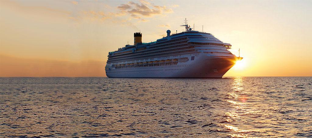 Gli studenti del Turistico di Tagliacozzo a lezione sulla nave Costa Crociere