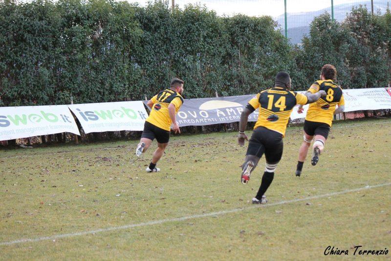Rugby: L'Avezzano vince l'ultima dell'anno e scala la classifica