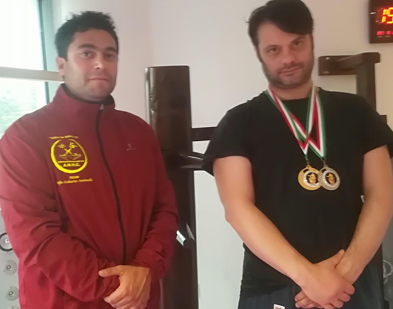 L'Atleta avezzanese Diego Calisse vince la medaglia d'oro nel Kung Fu Wing Chun