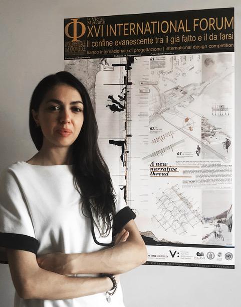 """Neo-laureata della """"d'Annunzio"""" vince la Competizione internazionale di progettazione promossa dall'UNESCO"""
