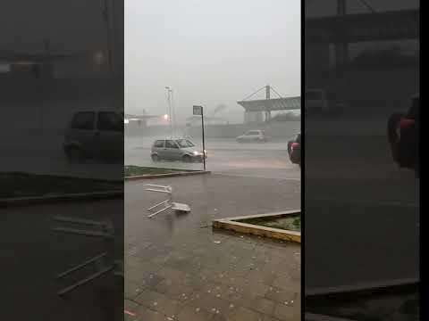 Emergenza maltempo Marsica, le strade diventano fiumi di acqua e fango