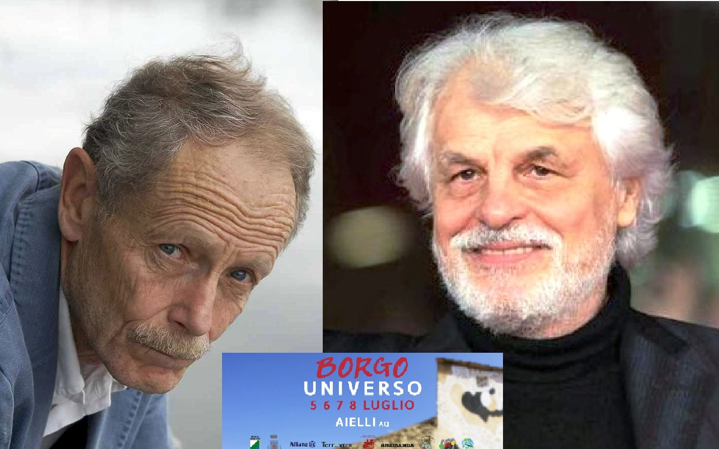 Michele Placido ad Aielli, borgo universo stupisce ancora