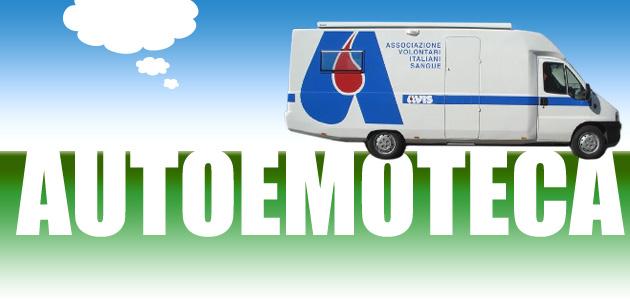 Donazioni sangue, domenica torna l'emoteca a San Pelino di Avezzano