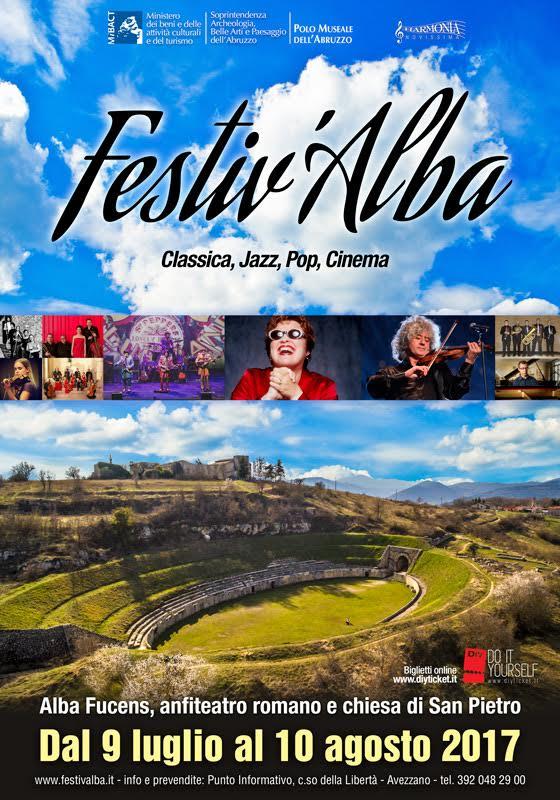 Festiv'Alba, grandi eventi di musica quest'estate ad Alba Fucens