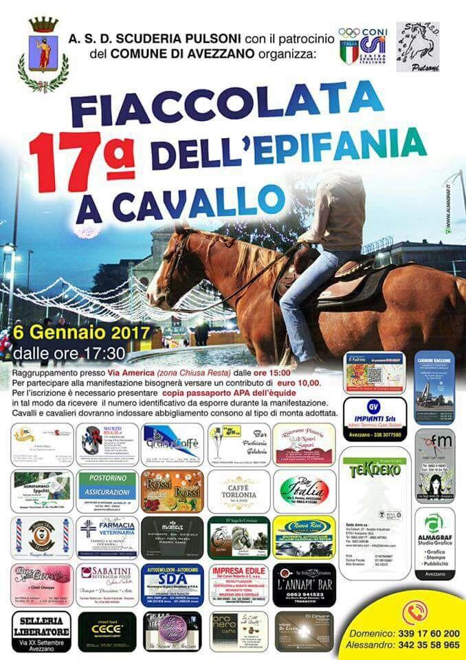 Maltempo ad Avezzano, rinviata la fiaccolata a cavallo