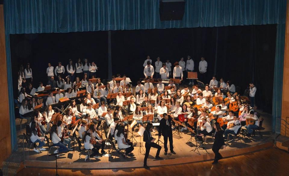 Concerto in occasione dei dieci anni dalla fondazionedell'Orchestra Giovanile della diocesi dei Marsi