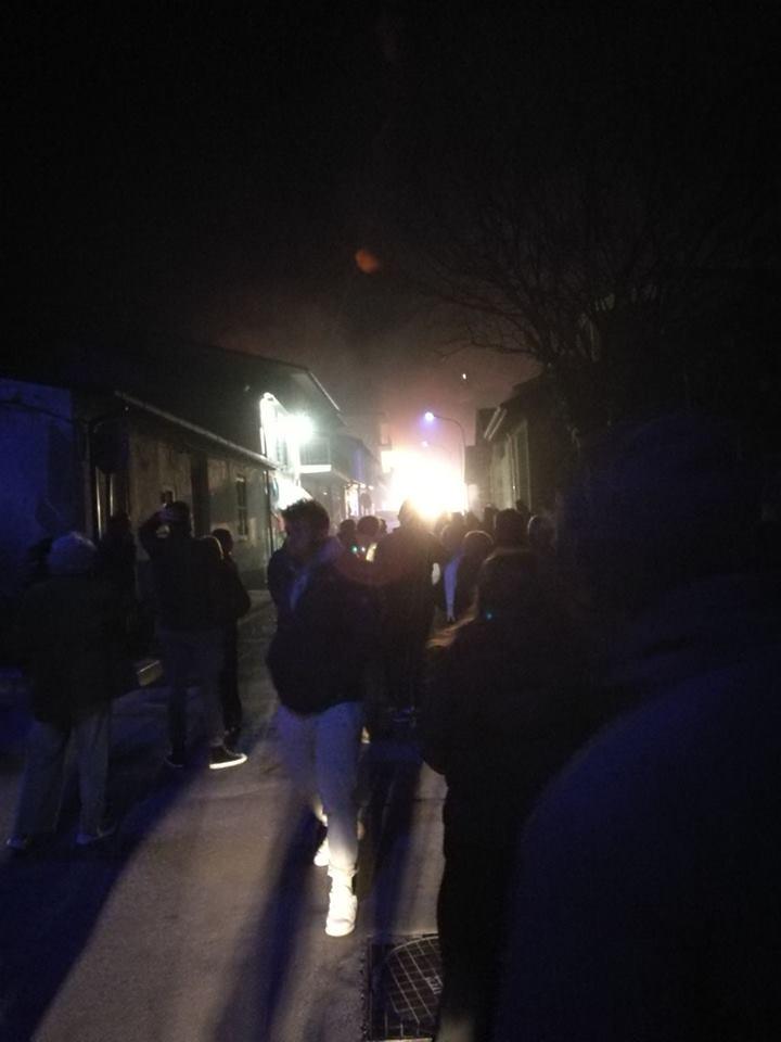 Trasacco, parte la solidarietà per il forno Salvati, divorato dalle fiamme di un incendio