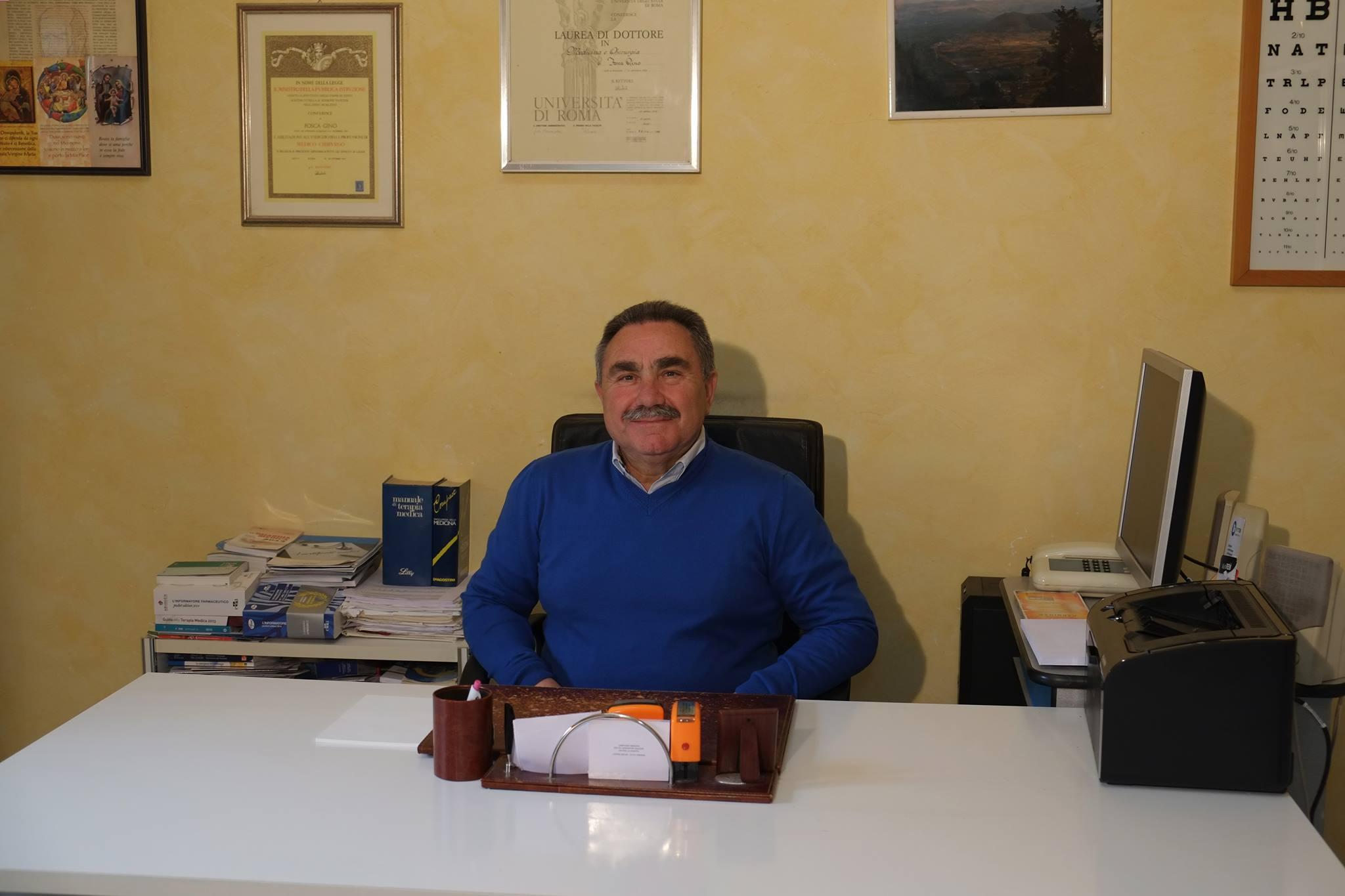 E' morto Gino Fosca, l'ex sindaco di Trasacco, noto medico condotto