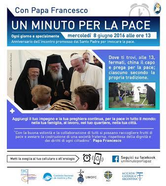 """""""Un minuto per la pace"""", momento di preghiera ad Avezzano"""