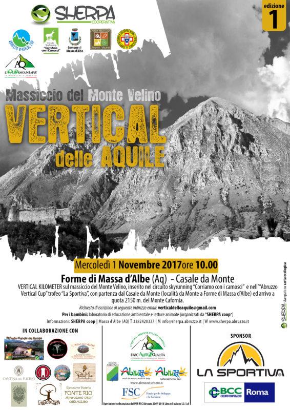 L'Abruzzo Vertical Cup fa tappa sul massiccio del Monte Velino con il primo Vertical delle Aquile