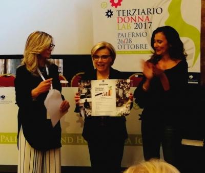 Premio terziario donna Confcommercio 2017: prestigioso riconoscimento al gruppo delle imprenditrici della provincia dell'Aquila