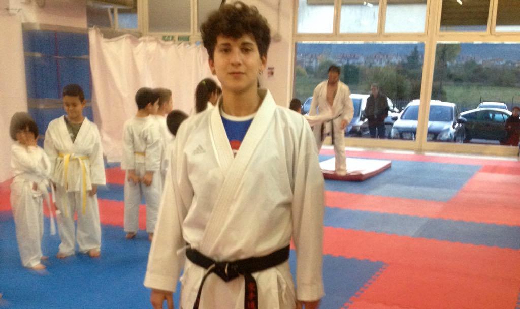 Quarto posto per Michela Paris al Campionato Italiano di karate al Palafijlkam di Ostia