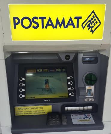 Nuovi ATM Postamat in due uffici postali di Avezzano