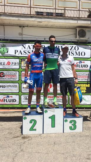 Ciclismo, il celanese Antonello Tirabassi conquista il titolo regionale Uisp