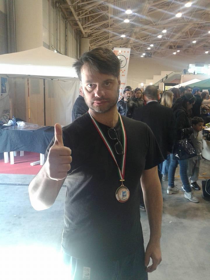 """""""United World Championships"""", Diego Calisse conquista la medaglia d'oro"""