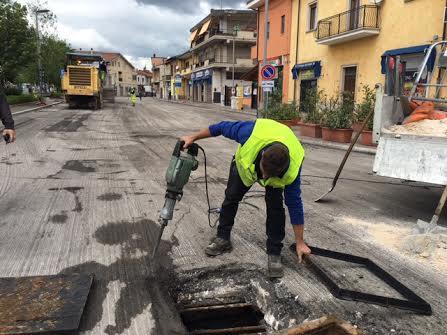 """Opere pubbliche, Di Pangrazio: """"In corso il restyling di Piazza Cavour"""""""