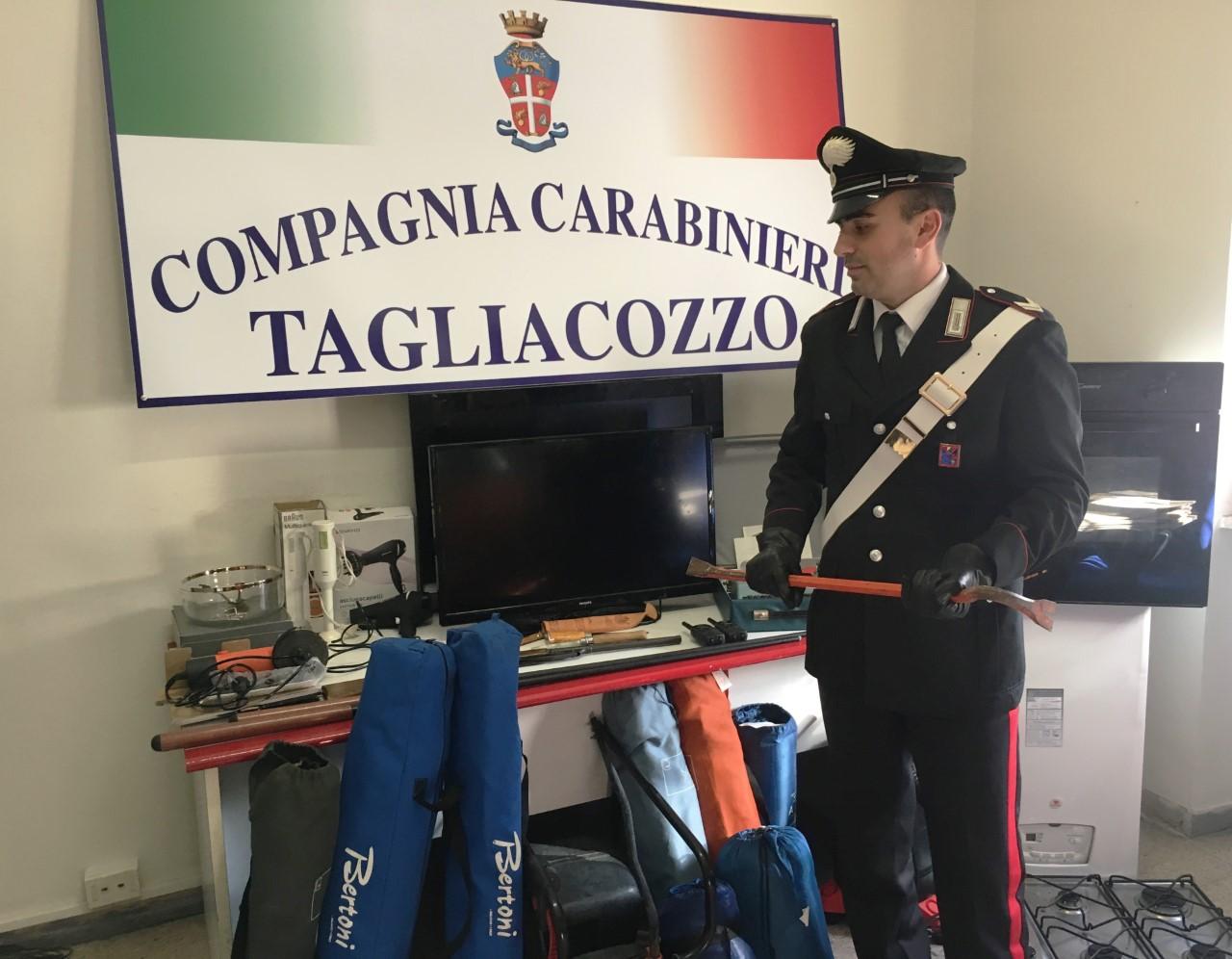 Scovato l'autore dei furti a Marsia e Camporotondo