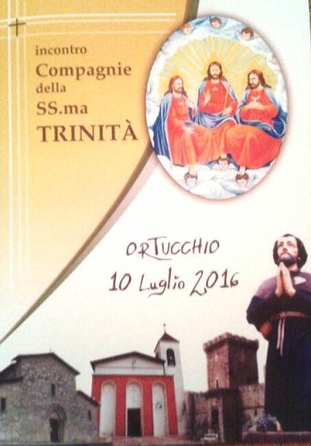 Ad Ortucchio l'incontro delle compagnie della Ss. Trinità di Lazio ed Abruzzo
