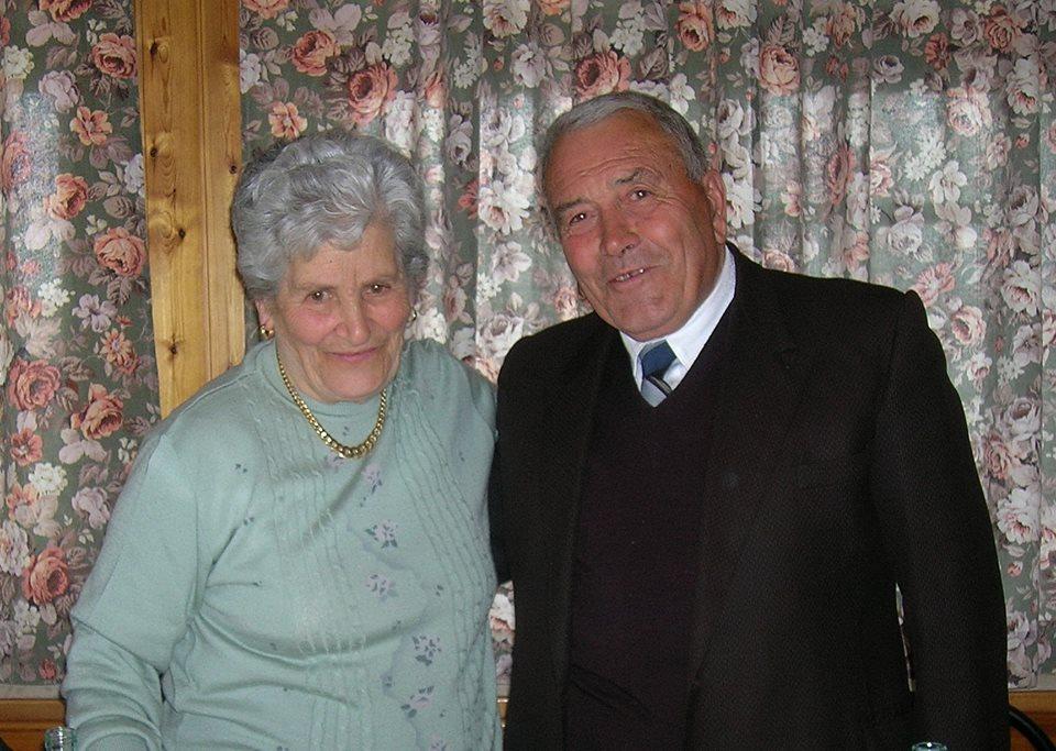 Collarmele, i coniugi Palermo festeggiano sessant'anni di matrimonio