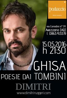"Reading ""Ghisa – Poesie dai tombini"""