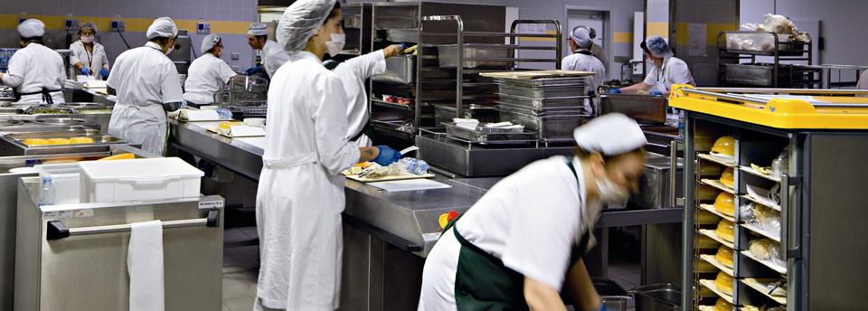 Domani l'inaugurazione della mensa per i dipendenti dell'ospedale