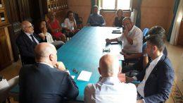 Scuole, incontro tra il sindaco De Angelis e i direttori didattici