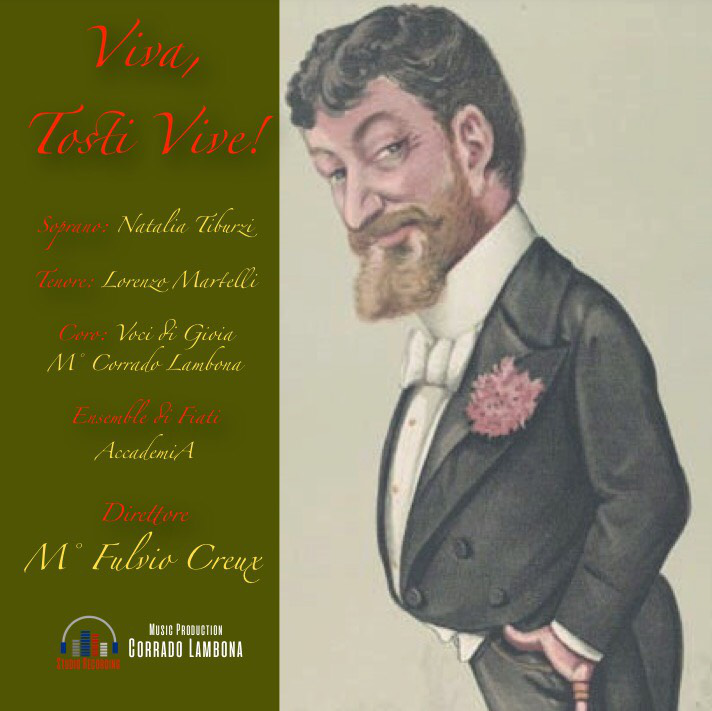 In uscita il cd commemorativo di Francesco Paolo Tosti