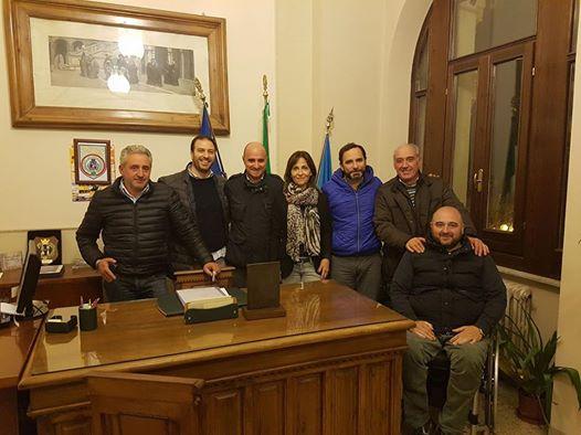 Continua il tour della Provincia dell'Aquila, ieri incontro a Magliano