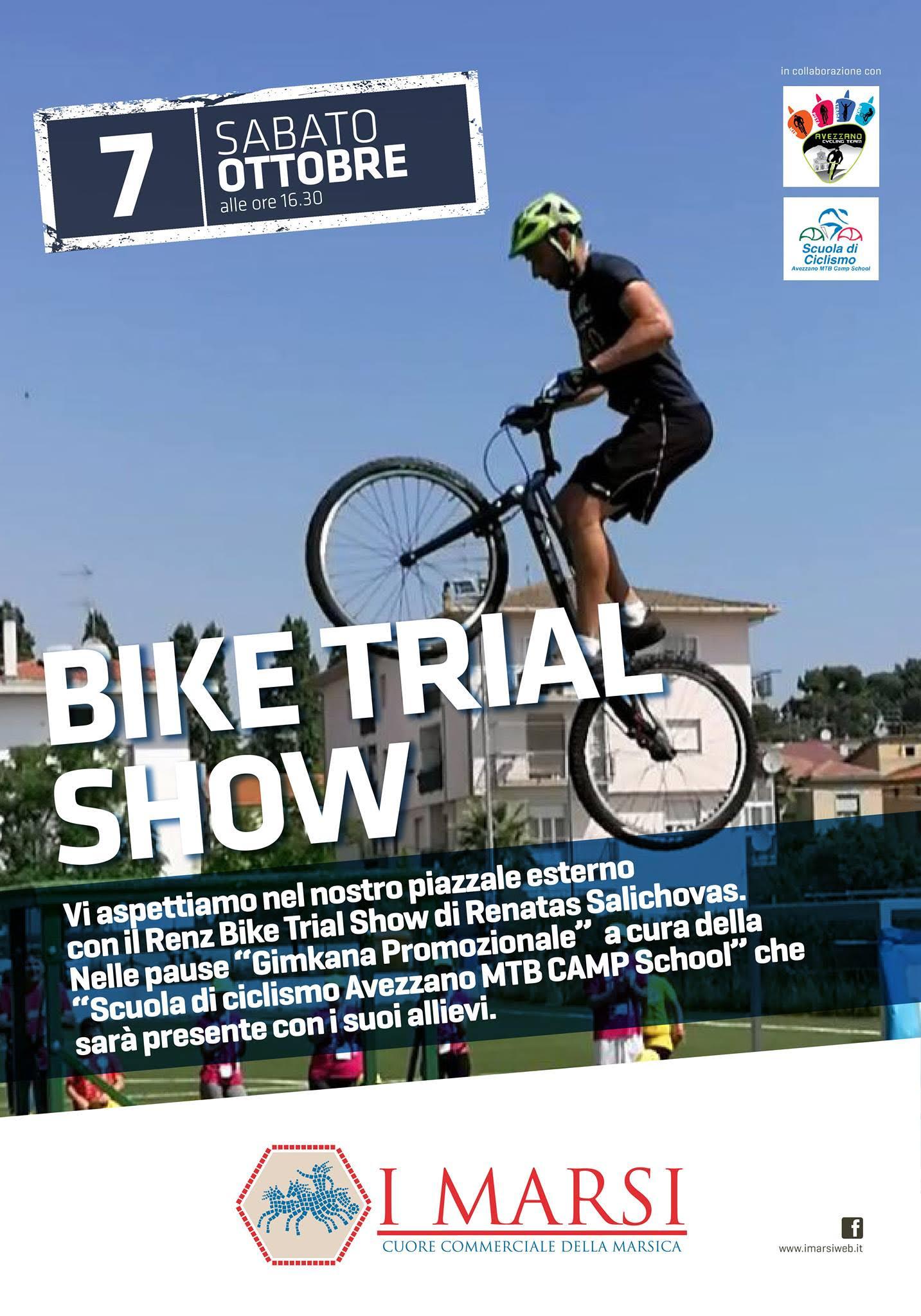 Bike trial e gimkana: un sabato a due ruote ad Avezzano