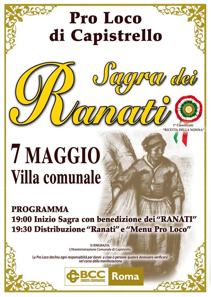 """Torna domani a Capistrello la """"Sagra dei Ranati"""""""