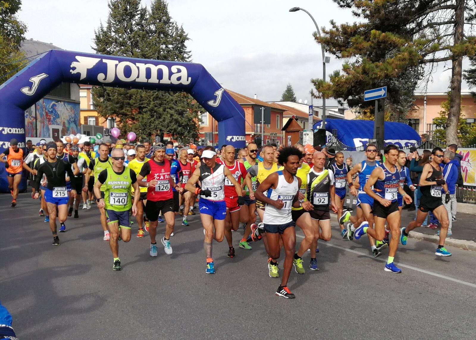 Oltre duecento iscritti per la seconda edizione della Ianus Hal Marathon