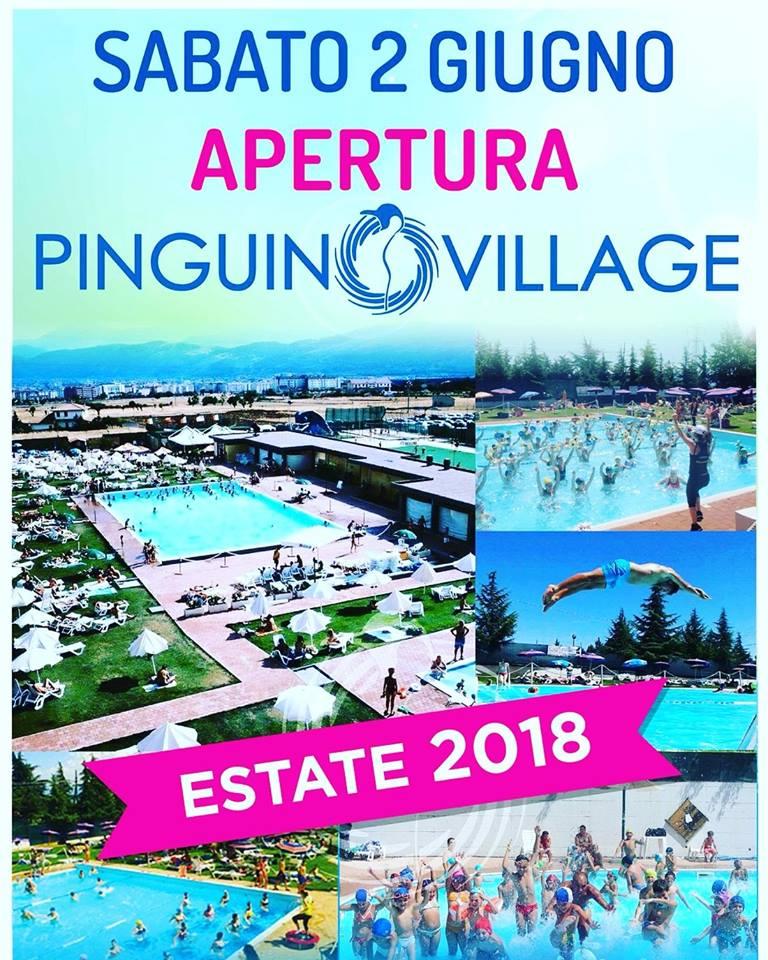 Riaperte l'Estate Pinguino 2018