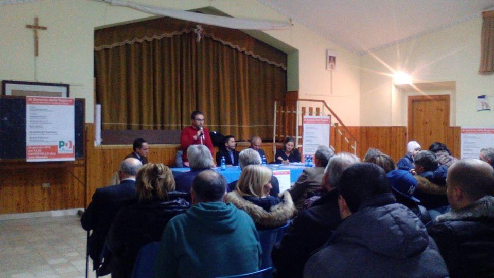 """""""Al governo della Regione, il Pd e la sfida delle riforme"""", partecipato convegno a Capistrello"""
