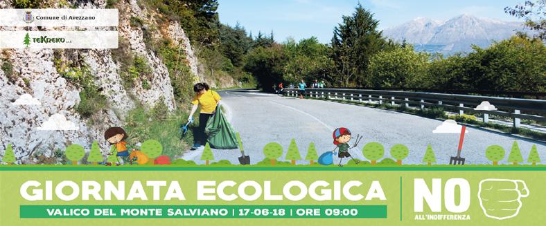 1° Giornata ecologica sul Monte Salviano
