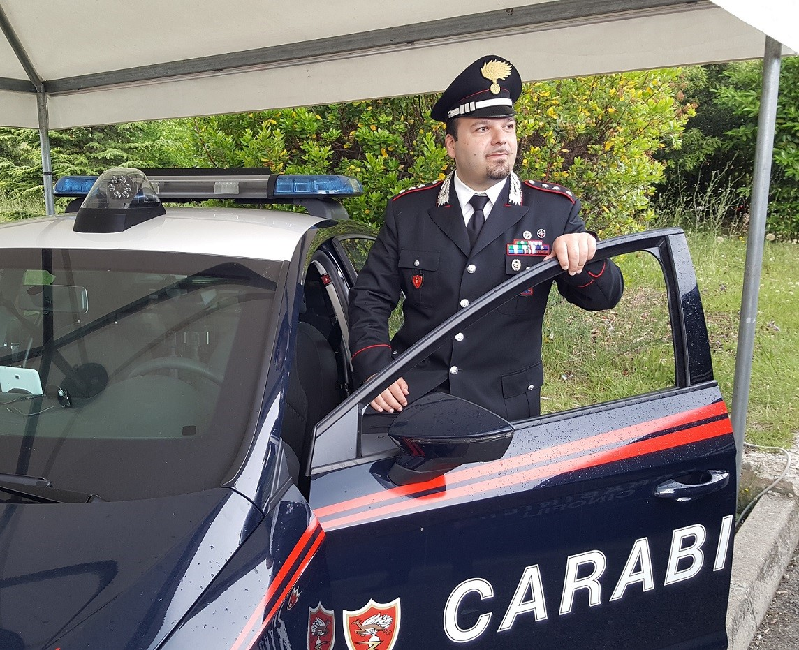 """Il capitano Pietro Fiano nuovo comandante dei carabinieri: """"Nuovo piano per la sicurezza"""""""