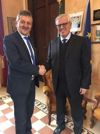 Sicurezza Avezzano, il sindaco incontra il nuovo prefetto