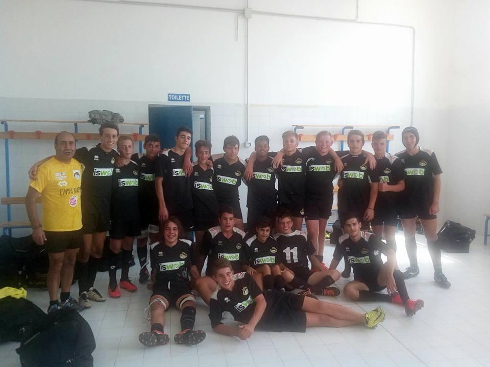 Avezzano Rugby, l'under 16 si impone sul Tigri Bari con un perentorio 25 a 5