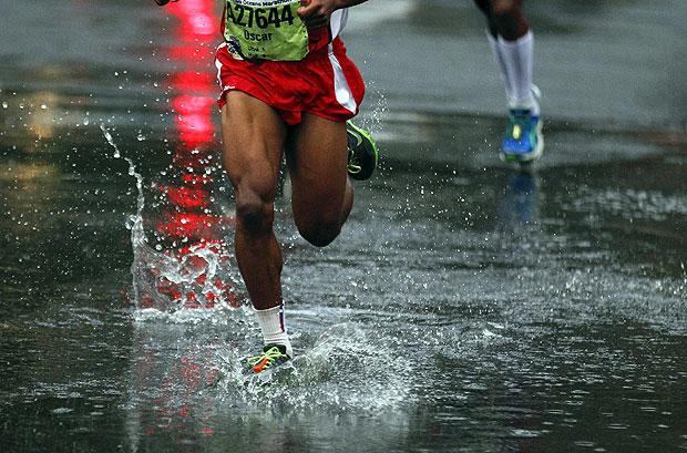 Uscita sotto la pioggia per l'USA Runners Avezzano
