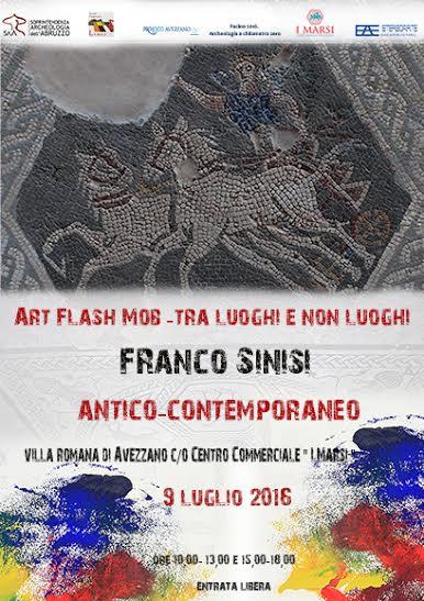 """""""Art flash mob – Tra luoghi e non luoghi Antico-contemporaneo"""""""
