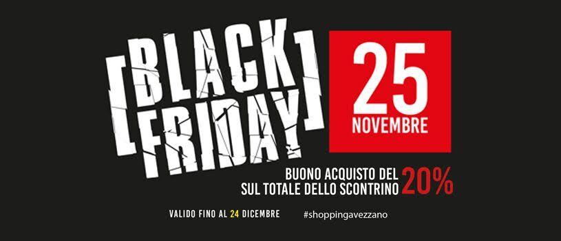 Arriva ad Avezzano il Black Friday, lo shopping day più atteso dell'anno