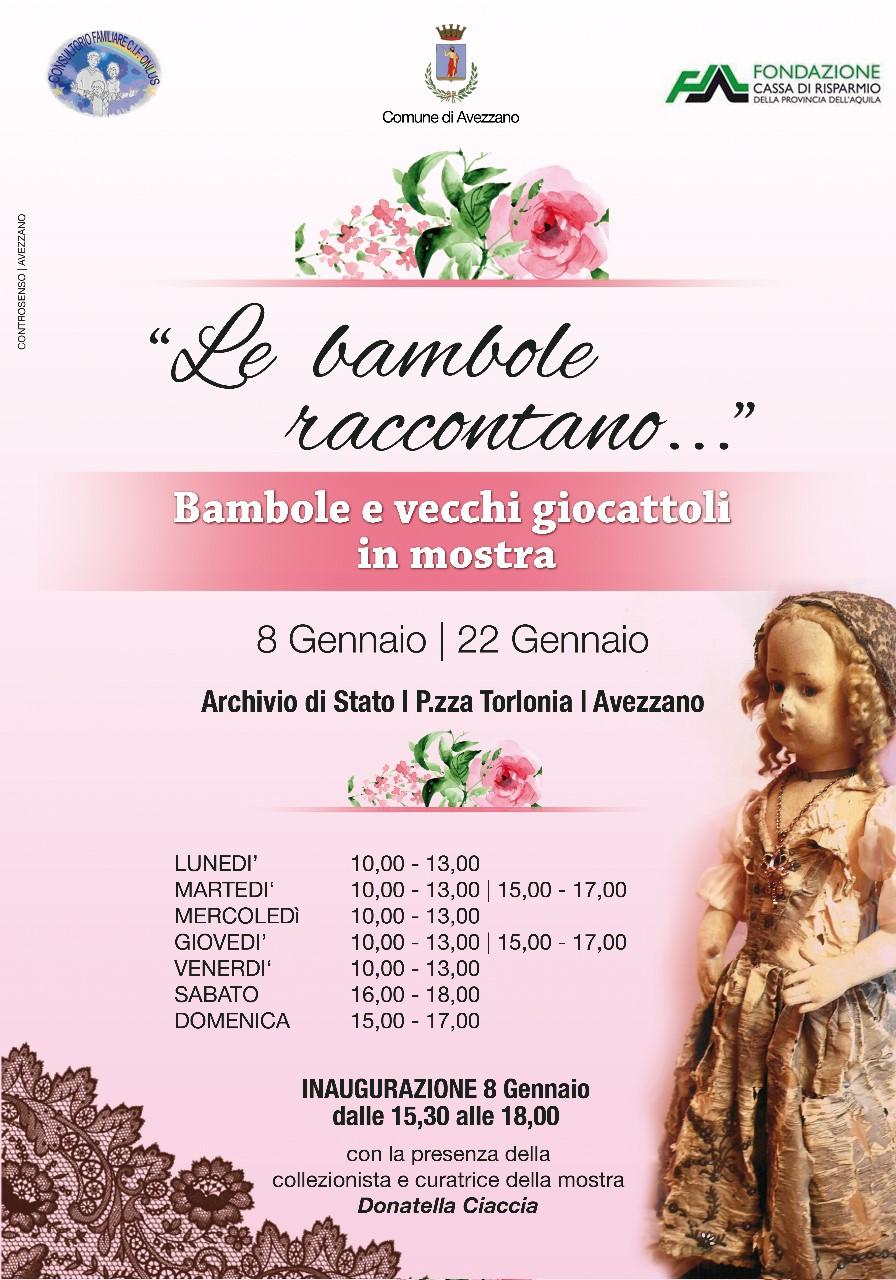 """""""Le Bambole raccontano..."""" grande successo di pubblico per i """"sogni d'altri tempi"""" in mostra a palazzo Torlonia"""